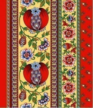 Полотенце вафельное Гранатовый браслет 50х70