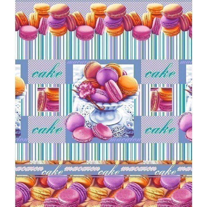 Полотенце вафельное Сладкая жизнь 47х70