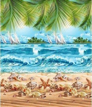 Полотенце вафельное Райский уголок 100х150