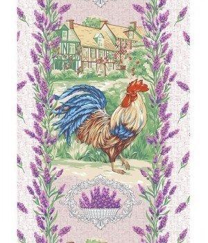 Полотенце вафельное Прованские травы 47х60