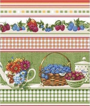 Полотенце вафельное Чаепитие 47х70
