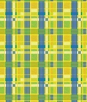 Полотенце вафельное Движение 1 желтое 100х150