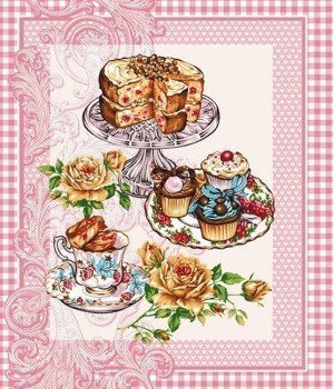 Полотенце вафельное Десерт 47х60
