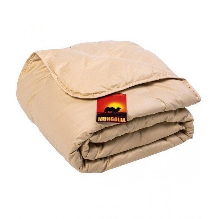 Одеяло всесезонное MONGOLIA верблюжья шерсть 140х205