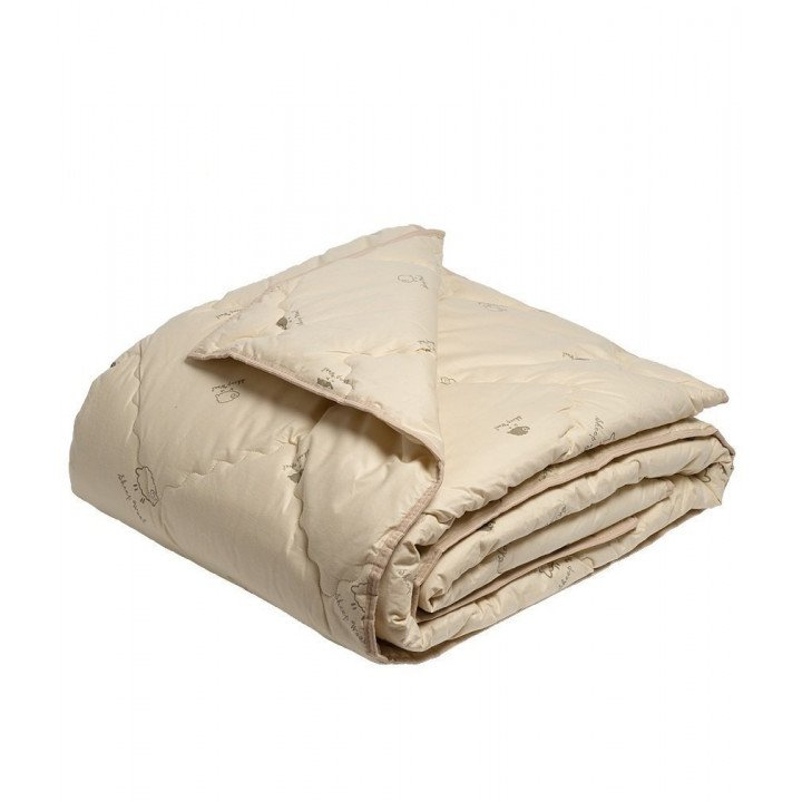 Одеяло детское всесезонное ОВЕЧКА 100х140