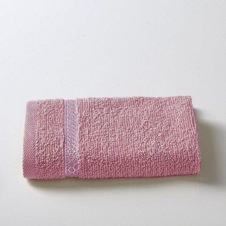 "Салфетка махровая ""KARNA"" PETEK Грязно-розовая 30x30"