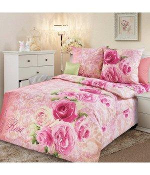 Постельное белье бязь Аромат розы 1 - 1,5 спальное, 1100А