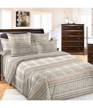 Постельное белье бязь Дуглас - 2 спальное с европростыней, 3100Б