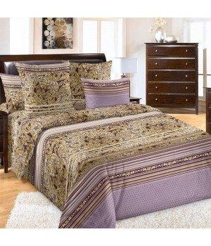 Постельное белье бязь Бургундия 1 фиолетовое - 2 спальное, 2100Б