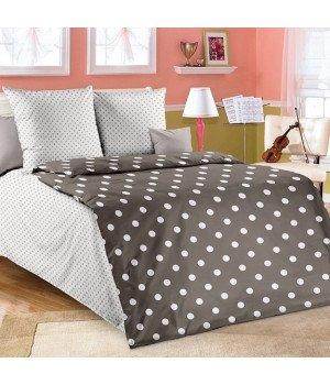 Постельное белье бязь Элис 1 коричневое - 1,5 спальное, 1130А