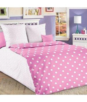 Постельное белье бязь Элис 6 розовое - 1,5 спальное, 1130А