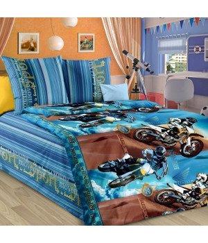 Постельное белье бязь Драйв - 1,5 спальное, 1130А
