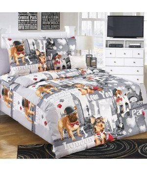 Постельное белье бязь Евротур - 1,5 спальное, 1100А
