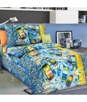 Постельное белье бязь Смартфон - 1,5 спальное, 1100А