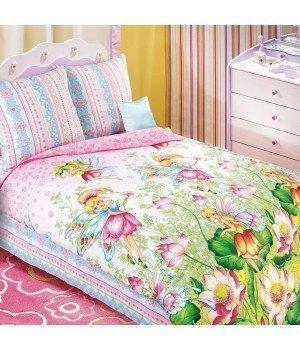Постельное белье бязь Волшебный мир 1 розовое - 1,5 спальное, 1130К