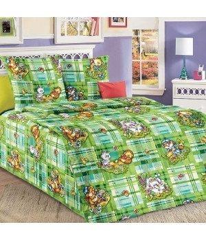 Постельное белье бязь Затейники - 1,5 спальное, 1100А