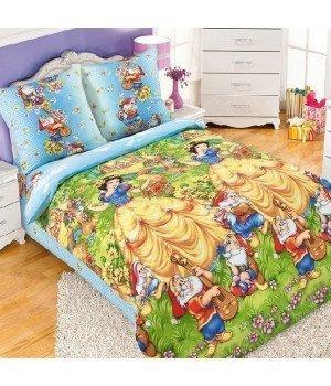 Постельное белье бязь Сказочный лес - 1,5 спальное, 1130К