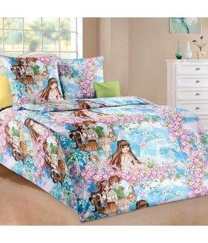 Постельное белье бязь Мечты - 1,5 спальное, 1100А