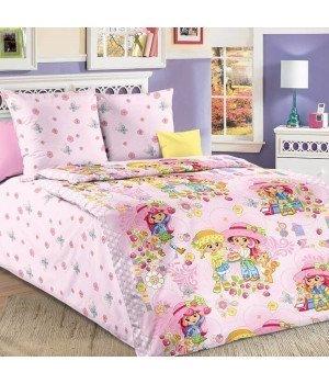 Постельное белье бязь Девчата - 1,5 спальное, 1100А