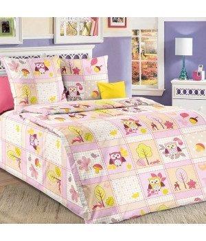 Постельное белье бязь Дорис 2 розовое - 1,5 спальное, 1100А