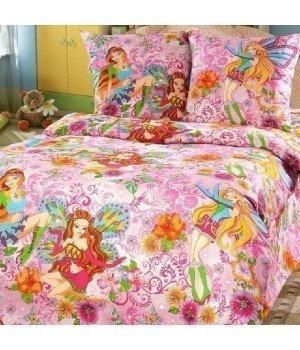 Постельное белье бязь Добрые феи - 1,5 спальное, 1100А