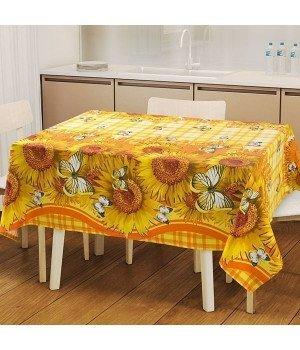 Набор для кухни Кубаночка 1: скатерть рогожка с мво 145х120 + 2 полотенца 47х70