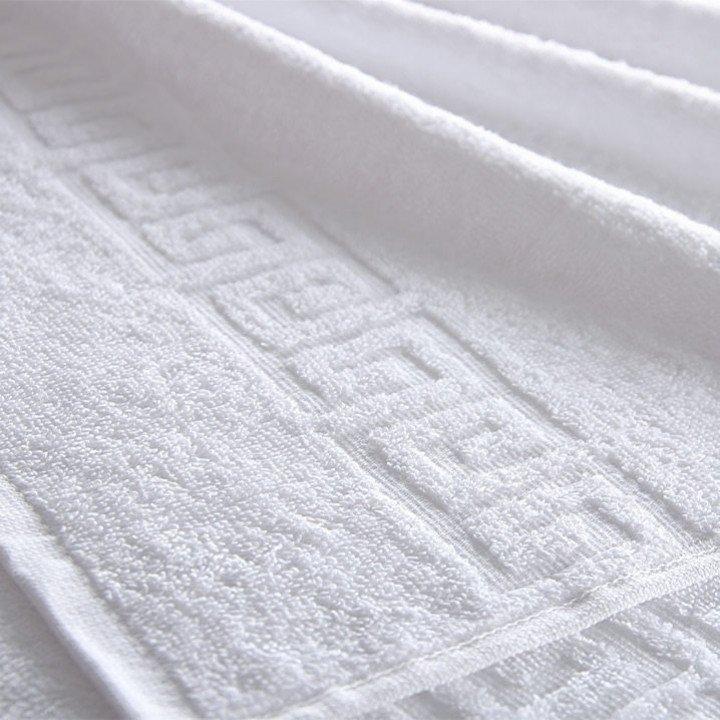 Полотенце махровое Белое 40х70