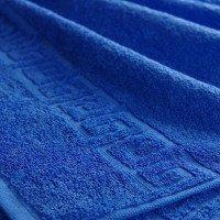 Полотенце махровое СИНЕЕ 40х70