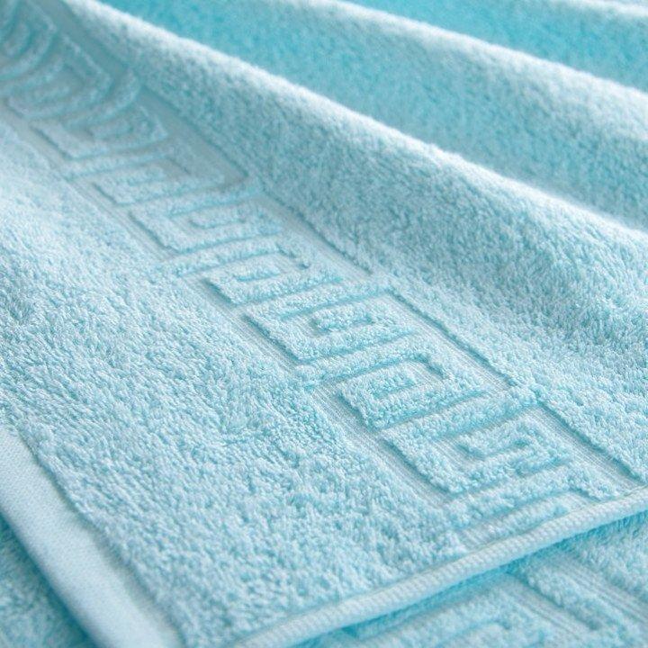 Полотенце махровое Светло-голубое 50х85
