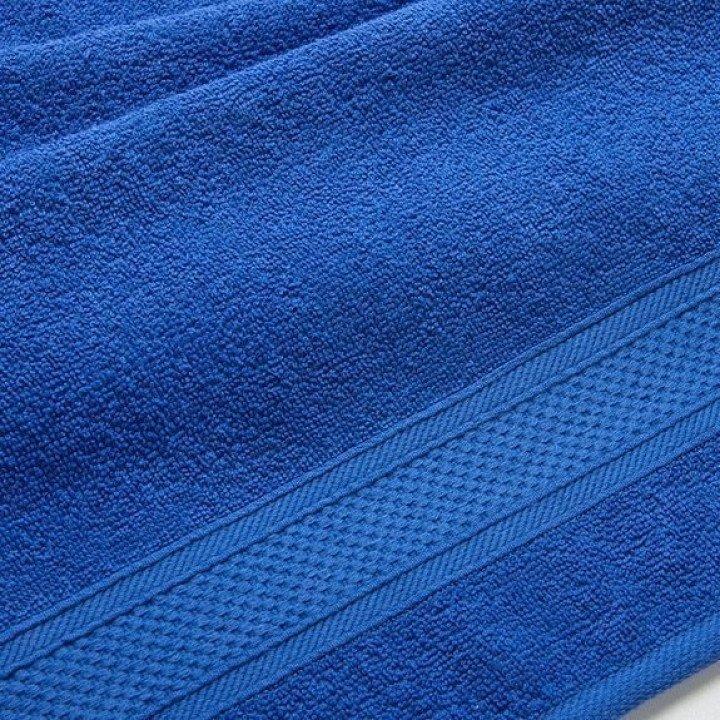 """Полотенце махровое """"УзТекс"""" Синее 40х70"""