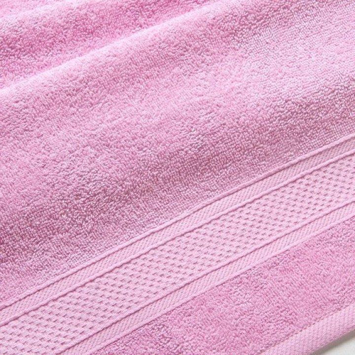"Полотенце махровое ""УзТекс"" Светло-розовое 100х180"