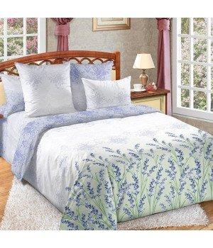 Постельное белье перкаль Вдохновение 1 фиолетовое с компаньоном - 1,5 спальное, 1250П