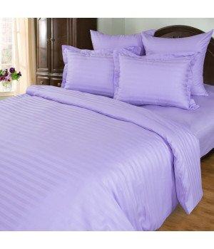 Постельное белье Страйп-сатин Фиалка - 1,5 спальное, 1315S