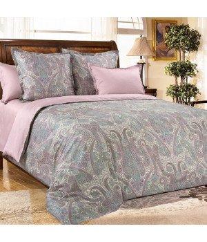 Постельное белье из сатина Кашмир 8 розовое - 1,5 спальное, 1342RL