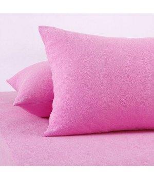 Наволочки махровые Розовые 50х70*2