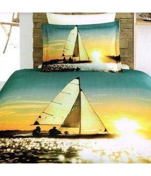 Постельное белье бамбук VS 3D Digital 1058-01 1,5 спальное