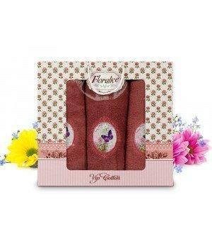 Комплект полотенец Gulcan Floralice (70x140, 50x90-2)
