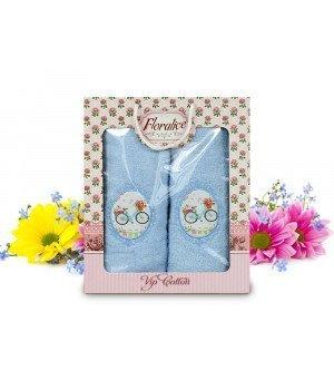 Комплект полотенец Gulcan Floralice (70x140, 50x90)