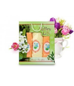 Комплект полотенец Gulcan Valley Lily (70x140, 50x90-2)